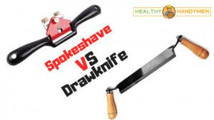Spokeshave vs Drawknife