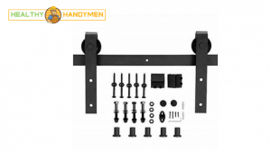 best barn door hardware kit for cabinets