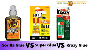 Gorilla Glue Vs Super Glue Vs Krazy Glue