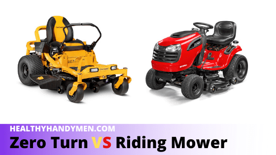 Zero Turn Vs Riding Mower