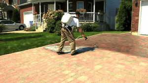 How to Apply Paver Sealer