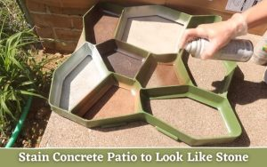 How To Stain Concrete Patio To Look Like Stone