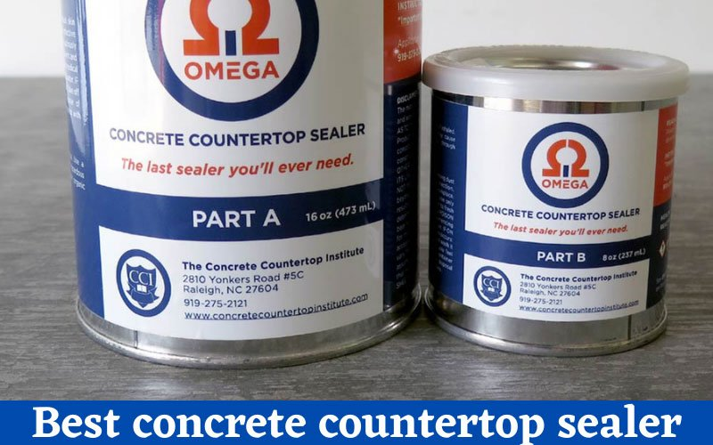 best concrete countertop sealer
