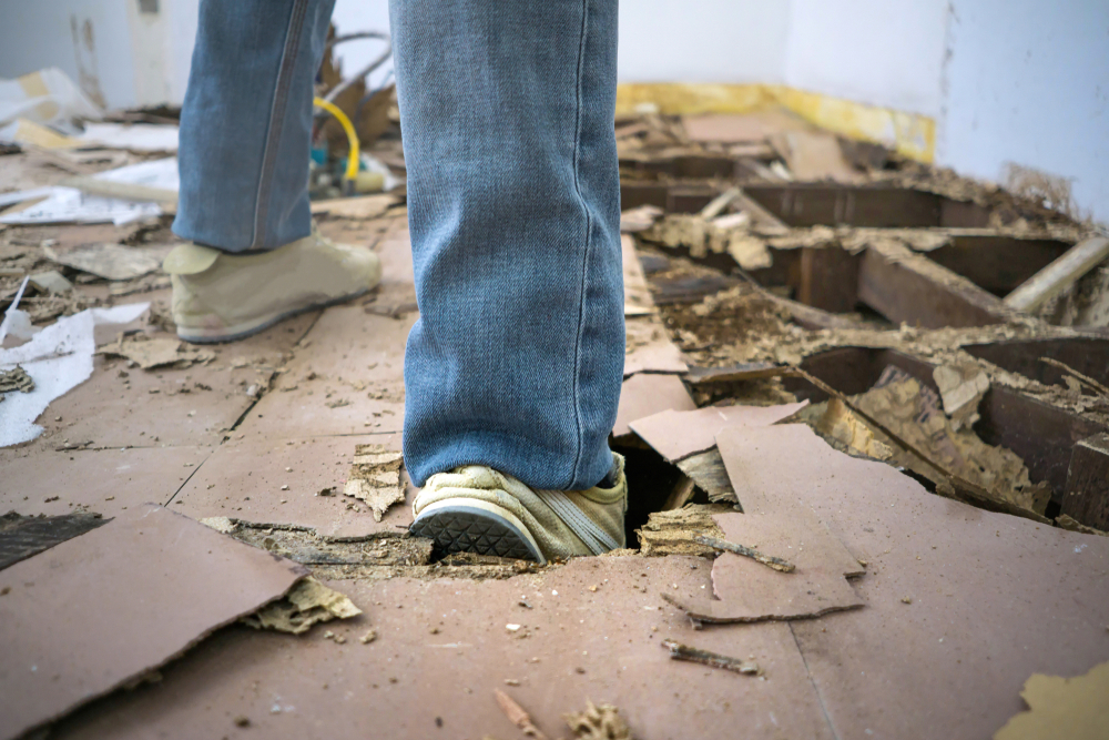 How To Fix A Large Hole in A Hardwood Floor