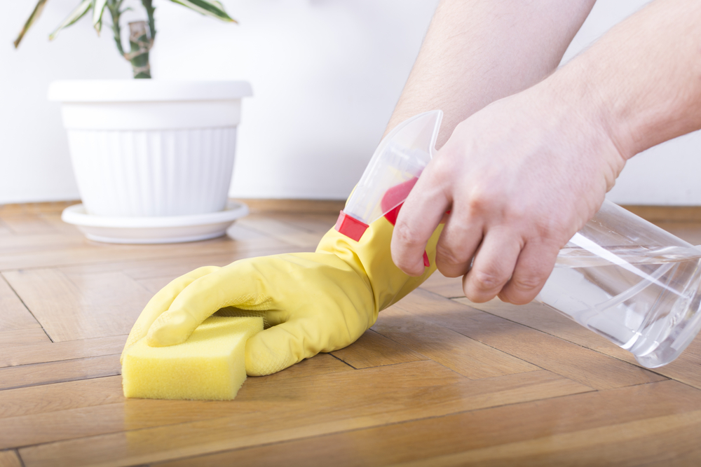 How To Remove Paint From Laminate Flooring